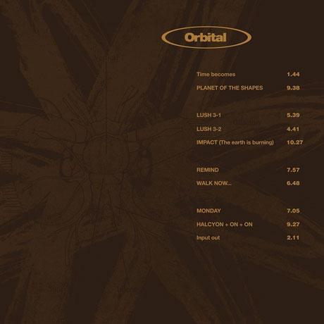 ORBITAL 2: BROWN COVER [MP3 쿠폰] [180G LP]
