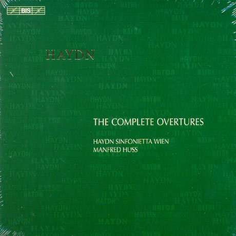 THE COMPLETE OVERTURES/ MANFRED HUSS