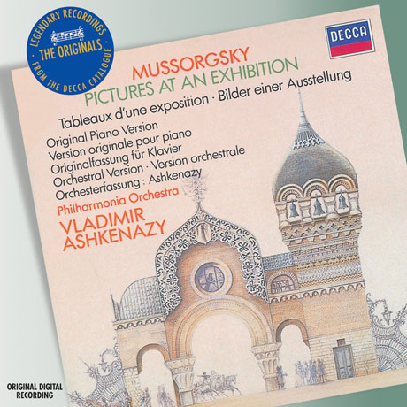 PICTURES AT AN EXHIBITION/ VLADIMIR ASHKENAZY [THE ORIGINALS]