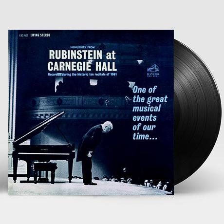 HIGHLIGHTS FROM RUBINSTEIN AT CARNEGIE HALL[아르투르 루빈스타인: 카네기 홀 실황(하이라이트)] [200G LP]