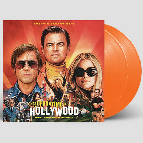 ONCE UPON A TIME IN HOLLYWOOD [원스 어폰 어 타임 인 할리우드] [ORANGE LP]