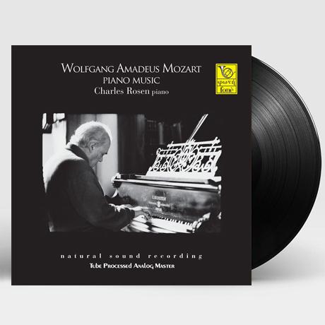 PIANO MUSIC/ CHARLES ROSEN [모차르트: 피아노 작품집 - 찰스 로젠] [180G LP]