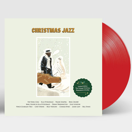 CHRISTMAS JAZZ [180G RED LP] [한정반]