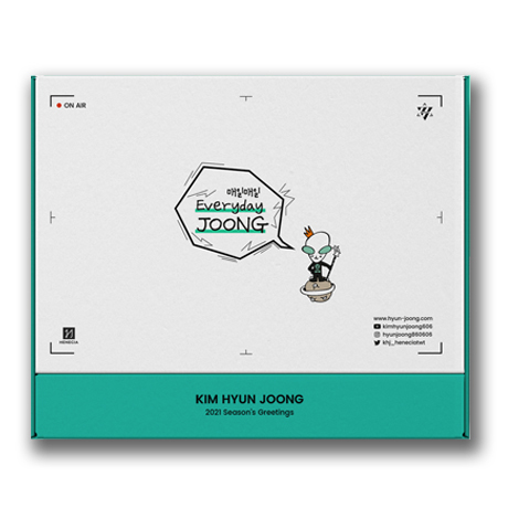 2021 SEASONS GREETINGS [EVERYDAY JOONG]
