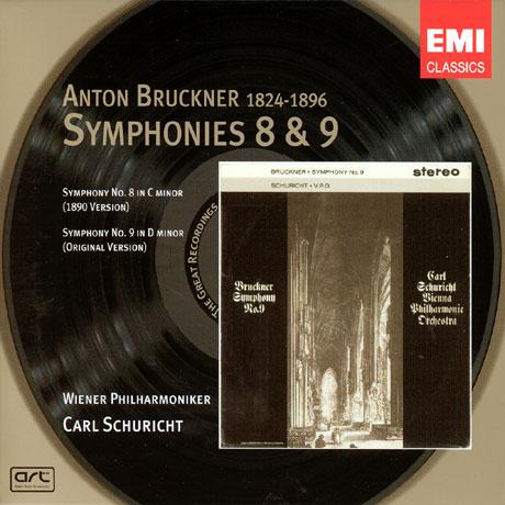 SYMPHONY NO.8&9/ CARL SCHURICHT [카알 슈리히트가 지휘하는 브루크너 교향곡 8,9번]