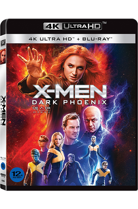 엑스맨: 다크 피닉스 4K UHD+BD [X-MEN: DARK PHEONIX]