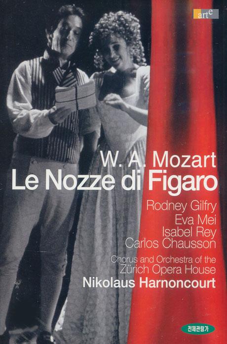 모차르트 피가로의 결혼/ 니콜라우스 아르농쿠르 [MOZART LE NOZZE DI FIGARO/ NIKOLAUS HARNONCOURT] [08년 8월 클래식 가격할인]