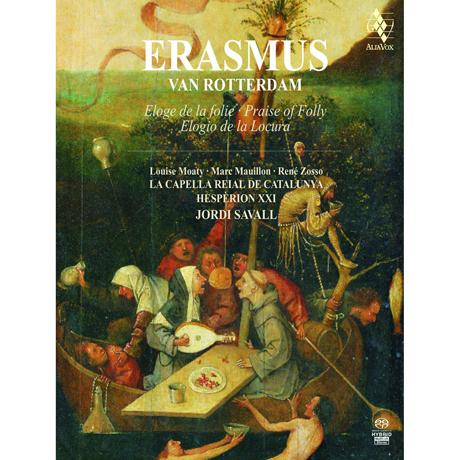ERASMUS: ELOGE DE LA FOLIE/ HESPERION 21, JORDI SAVALL [SACD HYBRID] [BOOK ALBUM] [에라스무스: 우신예찬]