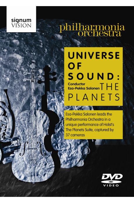 UNIVERSE OF SOUND: THE PLANETS/ ESA-PEKKA SALONEN [홀스트 행성: 에사 페카 살로넨]