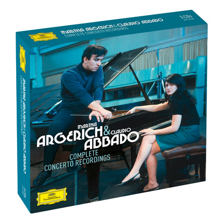 COMPLETE CONCERTO RECORDINGS [마르타 아르헤리치 & 클라우디오 아바도: 협주곡 녹음 전집]