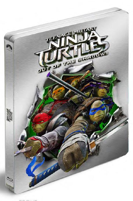 닌자 터틀: 어둠의히어로 3D+2D [스틸북 한정판] [TEENAGE MUTANT NINJA TURTLES: OUT OF THE SHADOWS]
