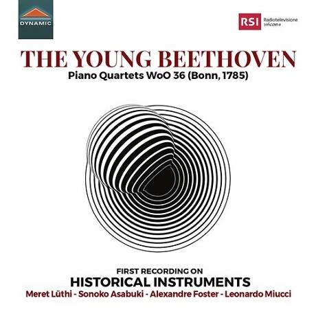 PIANO QUARTETS WOO 36/ MERET LUTHI, SONOKO ASABUKI, ALEXANDER FOSTER, LEONARDO MIUCCI [베토벤: 피아노 사중주 1~3번]