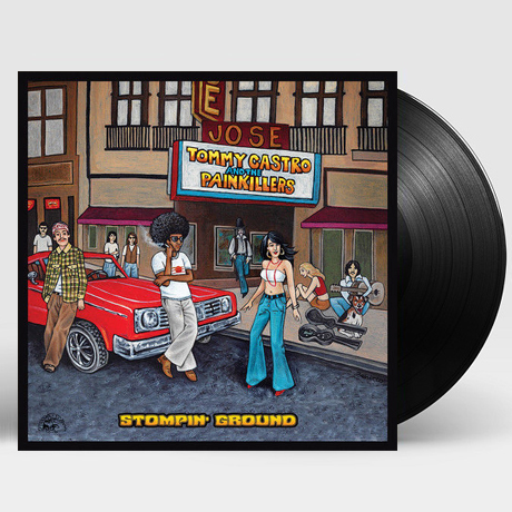 STOMPIN` GROUND [180G LP]