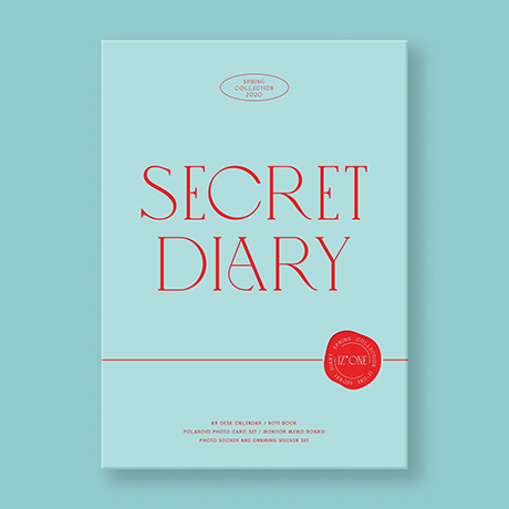 SECRET DIARY: SPRING COLLECTION 2020 [캘린더 패키지]