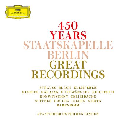 450 STAATSKAPELLE BERLIN: GREAT RECORDINGS [베를린 슈타츠카펠레 450년 기념]