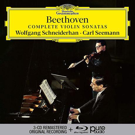 COMPLETE VIOLIN SONATAS/ WOLFGANG SCHNEIDERHAN, CARL SEEMANN [3CD+BDA] [베토벤: 바이올린 소나타 전집 - 볼프강 슈나이더한]