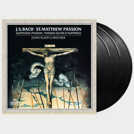 MATTHEW PASSION/ JOHN ELIOT GARDINER [바흐: 마태 수난곡 - 존 엘리엇 가디너] [180G LP]