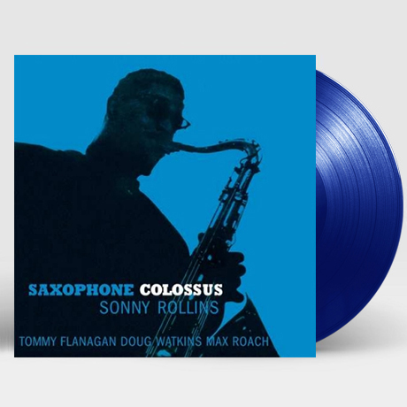 SAXOPHONE COLOSSUS [180G BLUE LP] [한정반]