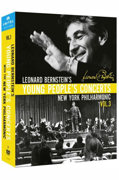 BERNSTEIN`S YOUNG PEOPLE`S CONCERTS VOL.3 [번스타인: 젊은이들의 콘서트 3집(18편 수록)] [한글자막]