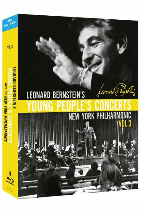 BERNSTEIN`S YOUNG PEOPLE`S CONCERTS VOL.3 [번스타인: 젊은이들의 콘서트 3집(18편 수록)] [한글자막]