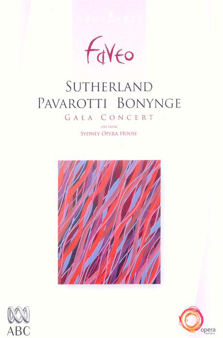 GALA CONCERT/ SUTHERLAND PAVAROTTI BONYNGE/ LIVE FROM SYDNEY OPER AHOUSE