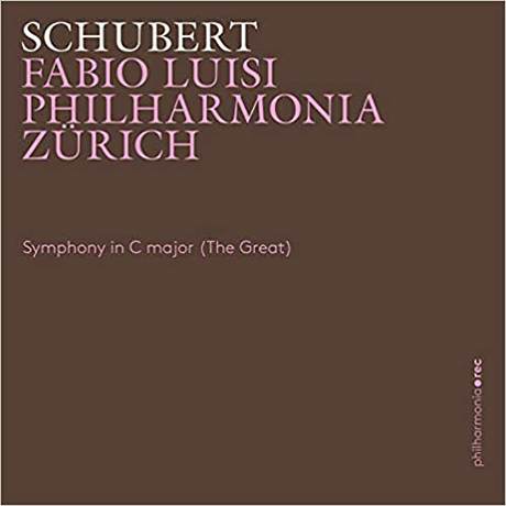 SYMPHONY IN C MAJOR(THE GREAT)/ FABIO LUISI [슈베르트: 교향곡 C장조(더 그레이트) - 파비오 루이지]