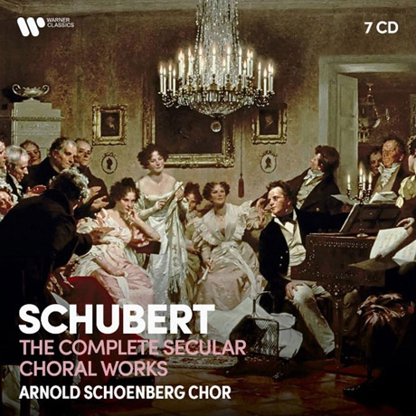 THE COMPLETE SECULAR CHORAL WORKS/ ARNOLD SCHOENBERG CHOR [슈베르트: 세속 합창곡 전집 - 아놀드 쇤베르크 합창단]