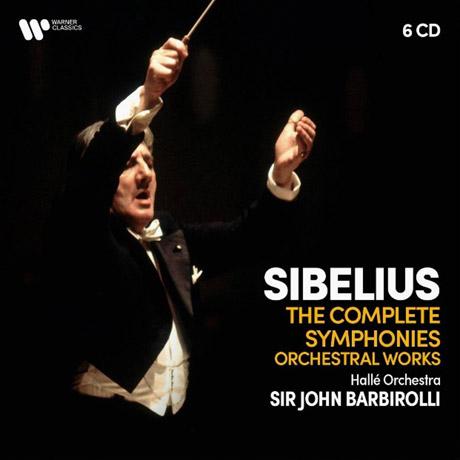 THE COMPLETE SYMPHONIES, ORCHESTRAL WORKS/ JOHN BARBIROLLI [시벨리우스: 교향곡 전곡과 관현악 - 존 바비롤리]