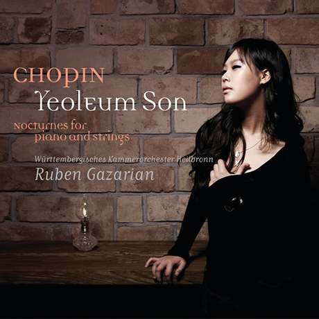 CHOPIN NOCTURNES FOR PIANO AND STRINGS/ RUBEN GAZARIAN [쇼팽: 피아노와 현을 위한 녹턴]