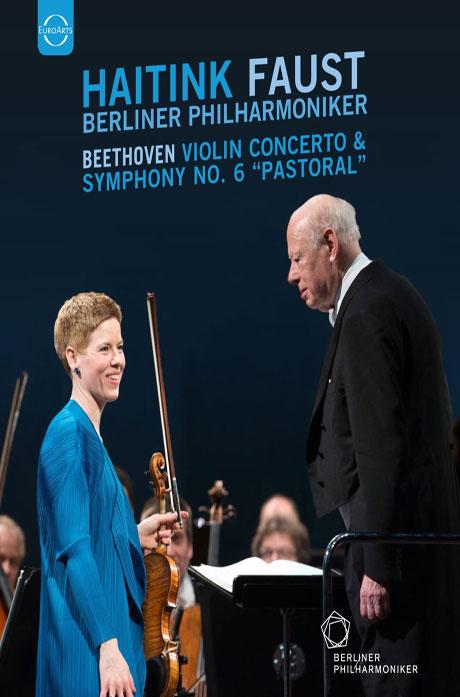 VIOLIN CONCERTO & SYMPHONY NO.6/ ISABELLE FAUST, BERNARD HAITINK [베토벤: 바이올린 협주곡 & 교향곡 6번 '전원']