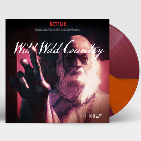 WILD WILD COUNTRY: THE NETFLIX DOCUMENTARY SERIES [TWO OUTER STRIPES OF MAROON LP]