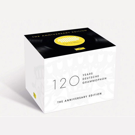 120 YEARS DEUTSCHE GRAMMOPHON [121CD+1BDA] [도이치 그라모폰 120주년 기념] [한정반]