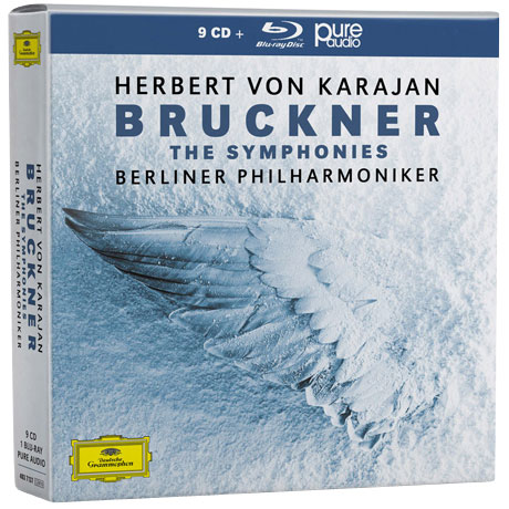 THE SYMPHONIES/ HERBERT VON KARAJAN [9CD+BDA] [브루크너: 교향곡 전집 - 베를린 필하모닉, 카라얀]