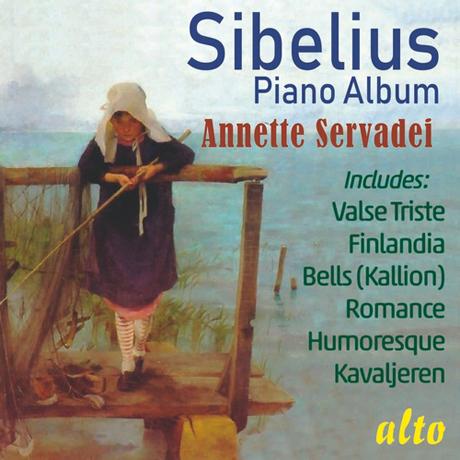 PIANO MUSIC/ ANNETTE SERVADEI [시벨리우스: 피아노 작품집 - 아네트 세르바데이]