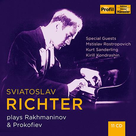 PLAYS RACHMANINOV & PROKOFIEV [리히테르가 연주하는 라흐마니노프와 프로코피에프]