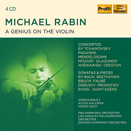 A GENIUS ON THE VIOLIN [마이클 래빈: 바이올린 협주곡, 소나타 & 소품 선집]
