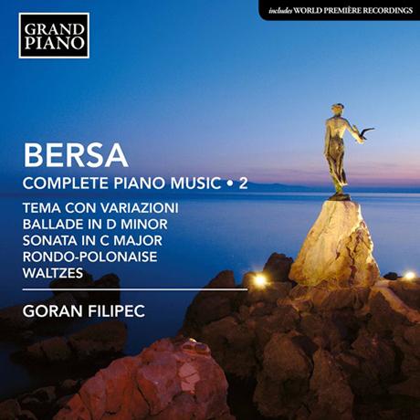 COMPLETE PIANO MUSIC VOL.2/ GORAN FILIPEC [베르사: 피아노 작품 전곡 2집 - 고란 필리펙]