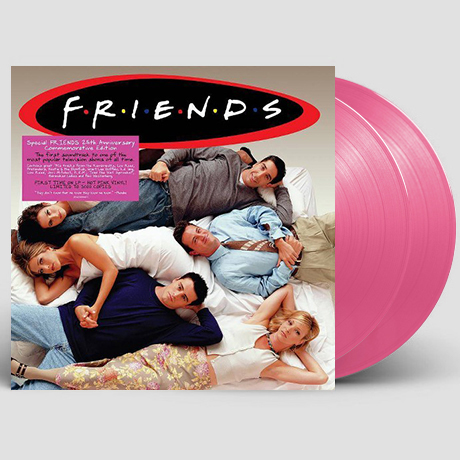 FRIENDS [프렌즈] [한정반] [PINK COLOR LP]