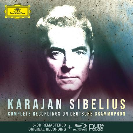 COMPLETE RECORDINGS ON DEUTSCHE GRAMMOPHON/ HERBERT VON KARAJAN [5CD+BDA] [시벨리우스: DG 녹음 전집 - 카라얀]