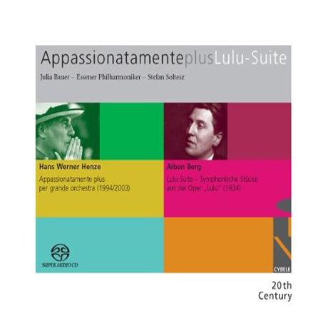 APPASSIONATAMENTE PLUS LULU-SUITE/ JULIA BAUER, STEFAN SOLTESZ [SACD HYBRID]
