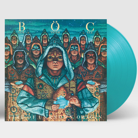 FIRE OF UNKNOWN ORIGIN [180G TURQUOISE LP]