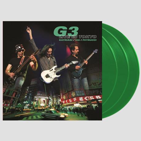 G3: LIVE IN TOKYO [180G GREEN LP]