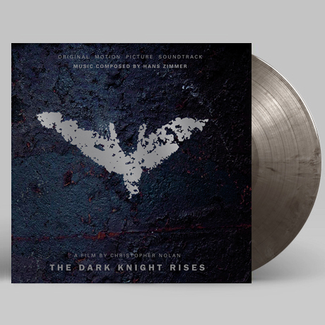 THE DARK KNIGHT RISES [다크 나이트 라이즈] [SILVER & BLACK MARBLED] [180G LP]