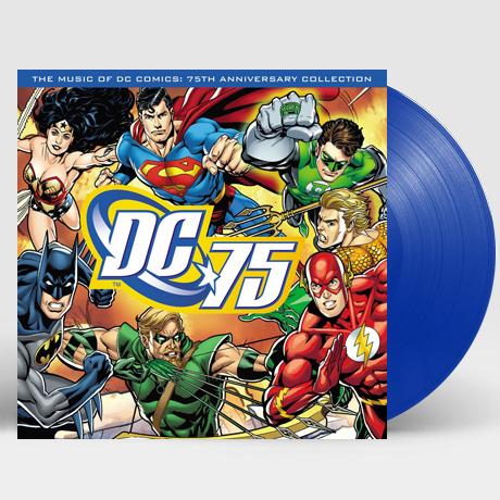 THE MUSIC OF DC COMICS: 75TH ANNIVERSARY COLLECTION [DC 코믹스 75주년 기념 콜렉션] [180G BLUE LP]