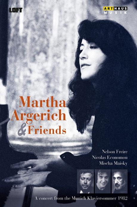 MARTHA ARGERICH & FRIENDS/ NELSON FREIRE, NICOLAS ECONOMON, MISCHA MAISKY [마르타 아르헤리치와 친구들]