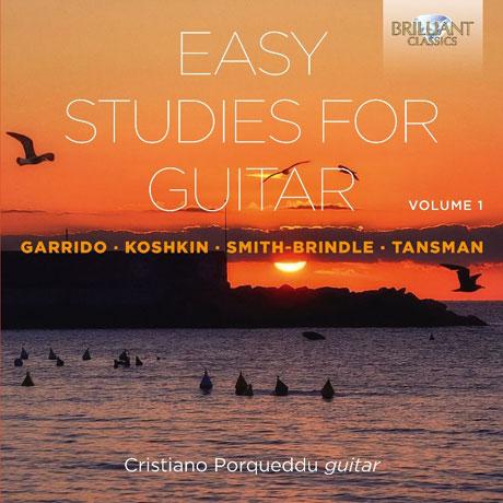 EASY STUDIES FOR GUITAR VOL.1/ CRISTIANO PORQUEDDU [크리스티아노 포르케두: 기타를 위한 쉬운 연습곡 1집]