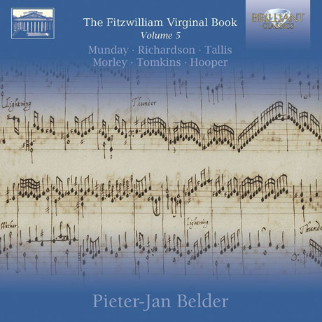 THE FITZWILLIAM VIRGINAL BOOK VOL.5/ PIETER-JAN BELDER [피츠윌리엄 버지널 북 5집: 탈리스, 톰킨스 외]