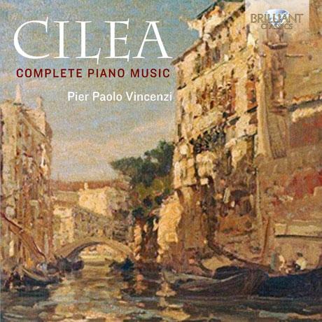 COMPLETE PIANO MUSIC/ PIER PAOLO VINCENZI [칠레아: 피아노 작품 전곡집]