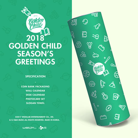 2018 GOLDEN CHILD SEASON`S GREETINGS