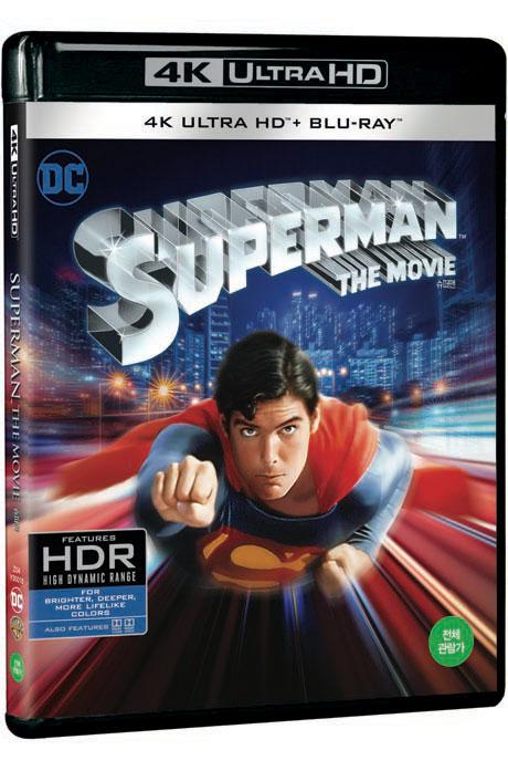 슈퍼맨 4K UHD+BD [SUPERMAN THE MOVIE]